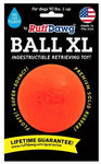 Ruff Dawg Indestructible Rubber Floating Ball-Guaranteed for LIFE (Our Toughest)
