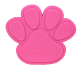 SP Paw Print Ultra Durable Nylon Dog Chew Toy for Aggressive Chewers - Pink