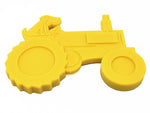 ID Tractor Ultra Durable Nylon Dog Chew Toy for Aggressive Chewers - Yellow