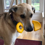 ID Shovel Ultra Durable Nylon Dog Chew Toy for Aggressive Chewers - Yellow