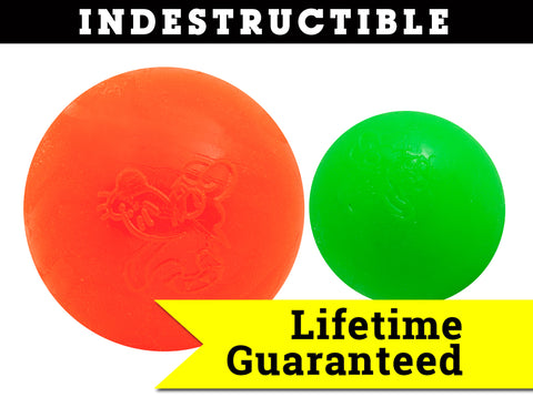 Ruff Dawg Indestructible Rubber Floating Ball-Guaranteed for LIFE