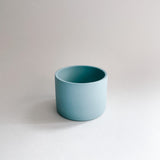 Small Robin's Egg Blue Porcelain Pot