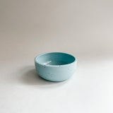 "3"" Blue Speckled Pinch Bowl"