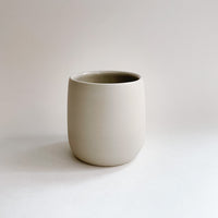 Light Grey Porcelain Tumbler (11 oz)