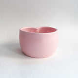 Pink Porcelain Heart Bowl