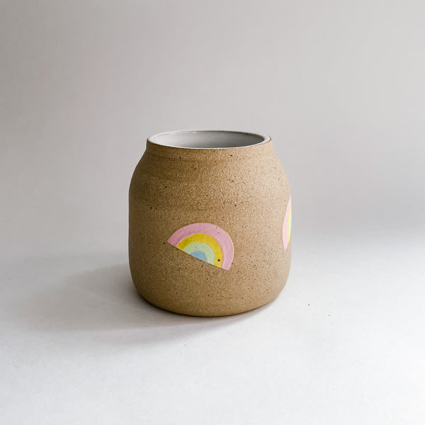 Speckled Rainbow Vase