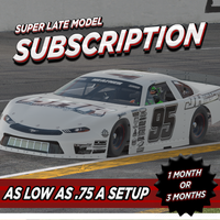 S2 Super Late Model Setups - JH