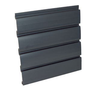 Black Slat Wall