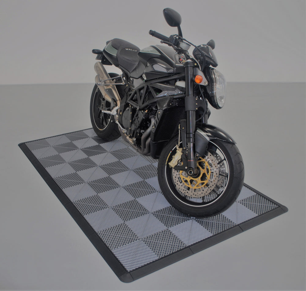 Load image into Gallery viewer, Pearl Grey Motorbike Pad