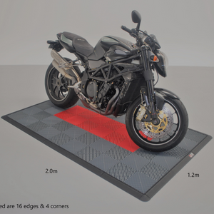 Load image into Gallery viewer, Red Motorbike Pad
