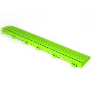 Techno Green Looped Edge