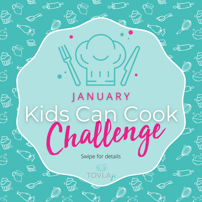 January Kids Can Cook Challenge