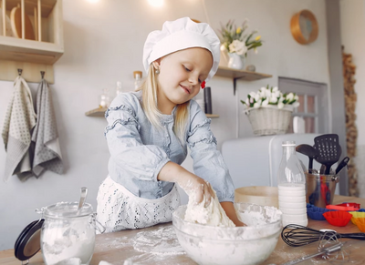5 Tools and Tips to Help you Start Raising a Confident Cook!
