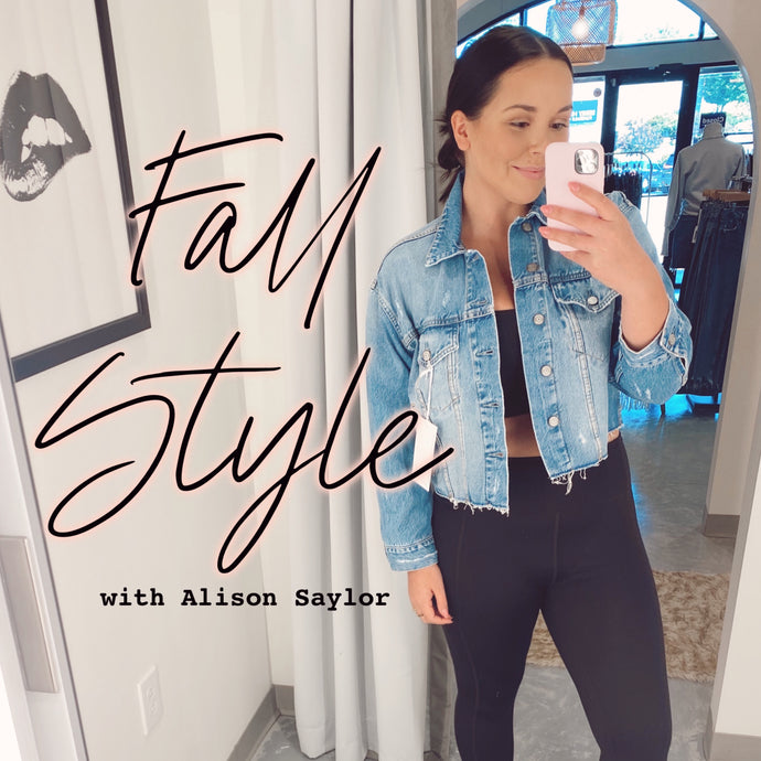 Fall Style by Alison Saylor | Elyse Wilde Stylist