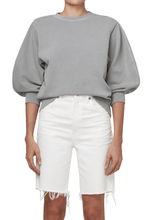 Load image into Gallery viewer, AGOLDE Thora Sweatshirt in Zinc
