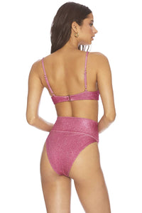 Beach Riot Highway Bottom in Hot Pink