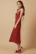 Load image into Gallery viewer, Elyse Wilde Sorrento Dress in Red Check