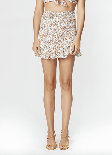 Flynn Skye Eva Mini Skirt in Spring Garden