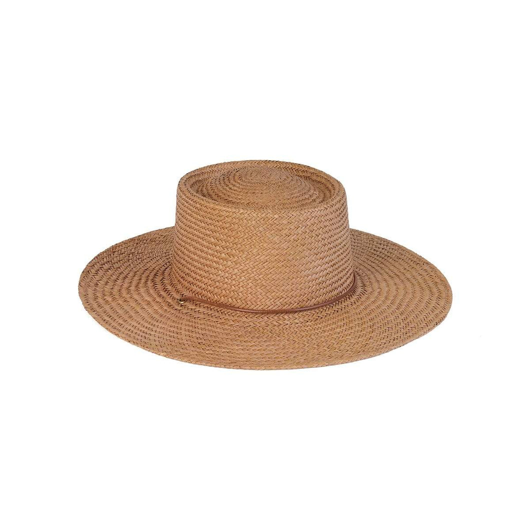 Lack of Color Vienna Hat in Natural Straw