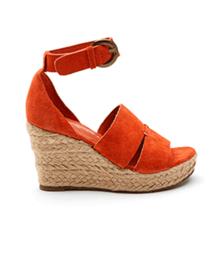 Matisse Cha Cha Wedge in Fire