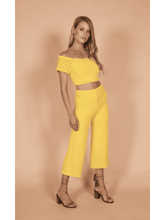 Load image into Gallery viewer, Nightcap Cabo Crop Pant in Sol