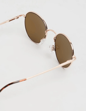Load image into Gallery viewer, Reality O/S / Gold Instant Karma Sunglasses in Gold