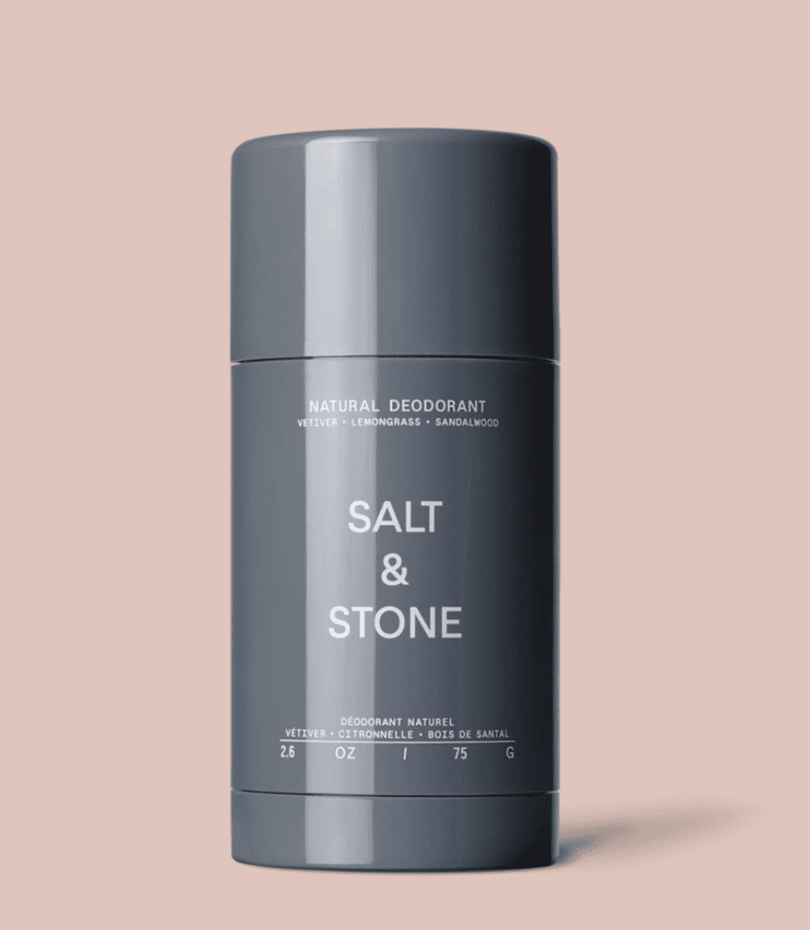 SALT & STONE O/S Natural Deodorant in Vetiver + Lemongrass + Sandlewood