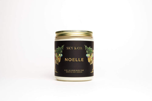 Sky and Company Noelle - Wood Wick Candle