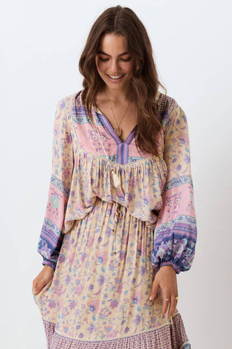 Spell & The Gypsy Collective Portobello Road Blouse in Lavender