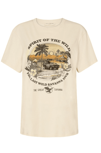 Spell & The Gypsy Collective Spirit of the Wilderness Organic Tee in Camel