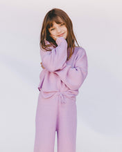 Load image into Gallery viewer, The Lullaby Club Alex Mini Knit Set in Periwinkle