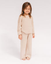 Load image into Gallery viewer, The Lullaby Club Alex Mini Knit Set in Sand