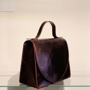 Mini Briefcase Brilliant MD - aubergine