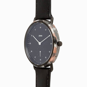 WATCH J frosted rose / black