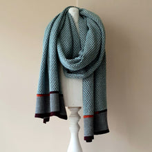 Load image into Gallery viewer, SCARF merino wool  LFG - mint