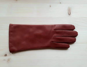 GLOVES leather - brandy ( cognac )