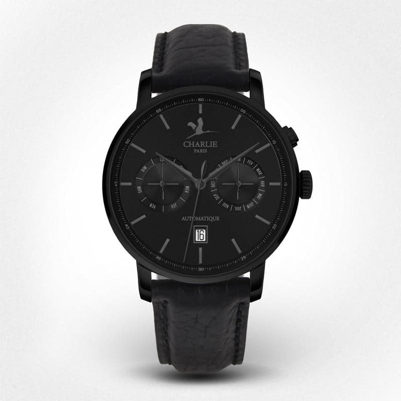 WATCH CP AUTOMATIC CALENDRIER - phantom black