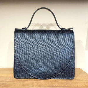 BRIEFCASE MINI MD  - snake marine blue