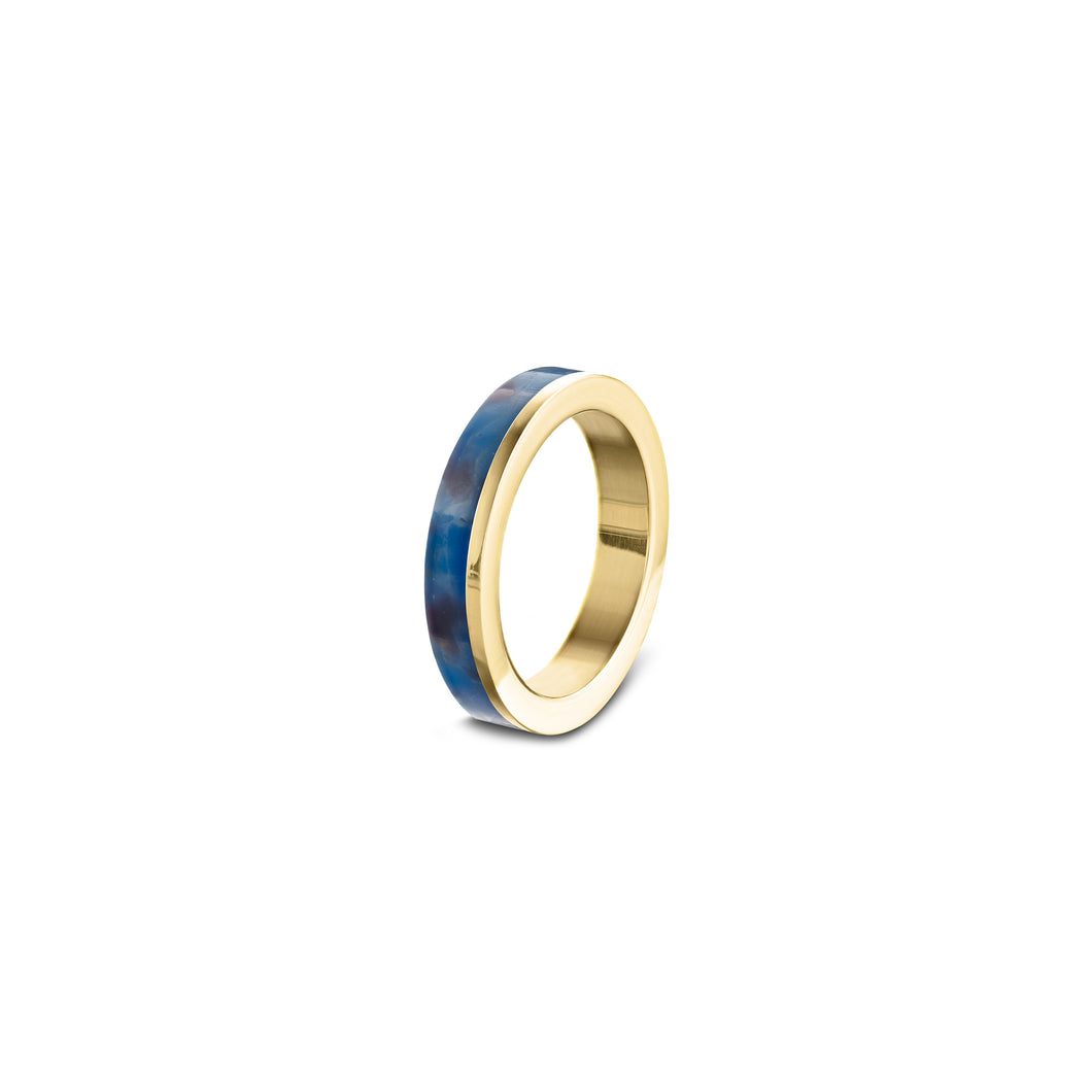 STACK RING LH  - electric blue