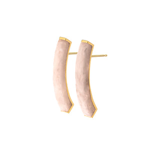 EARSTUDS LH FRAGMENT LARGE  – whitesque