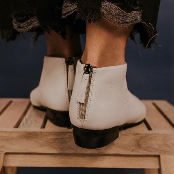 Sherochic Bottines en cuir chics
