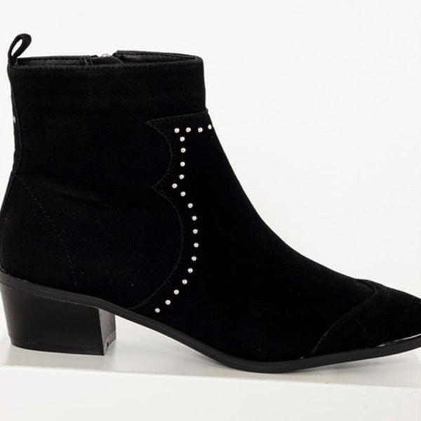 Sherochic Boots western cloutées