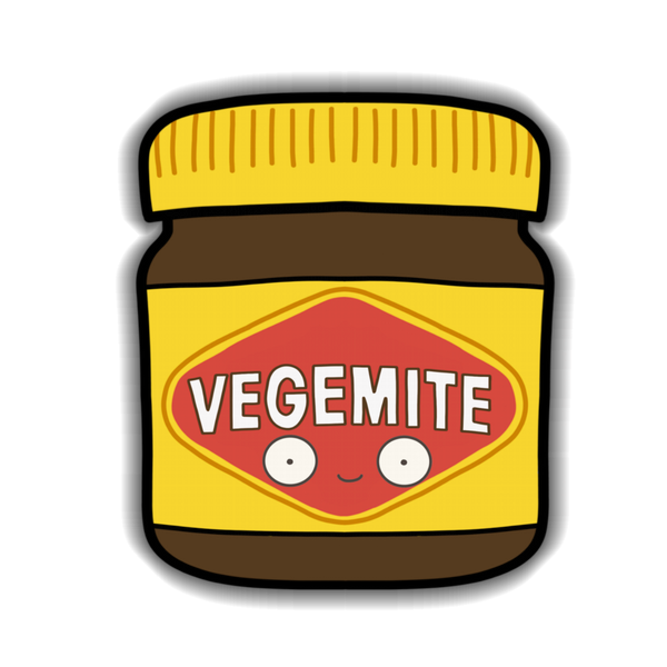 Vegemite Sticker