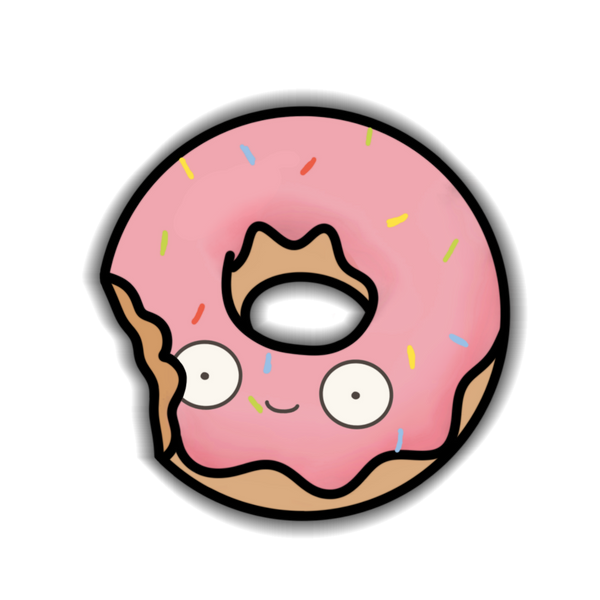Donut - Strawberry Sticker