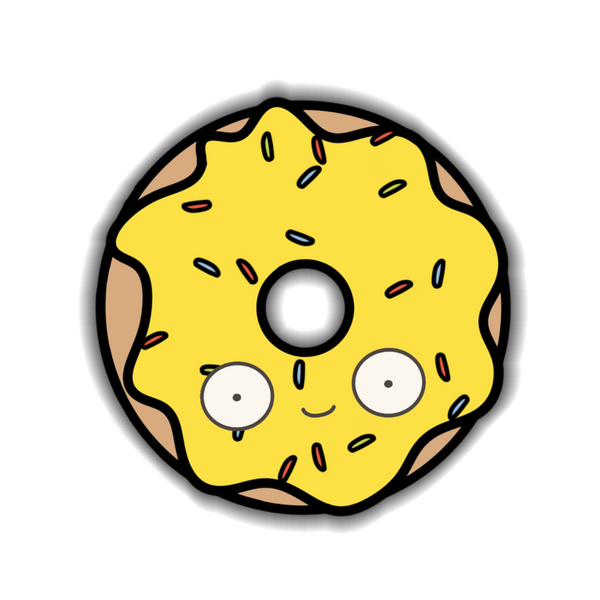 Donut - Banana Sticker