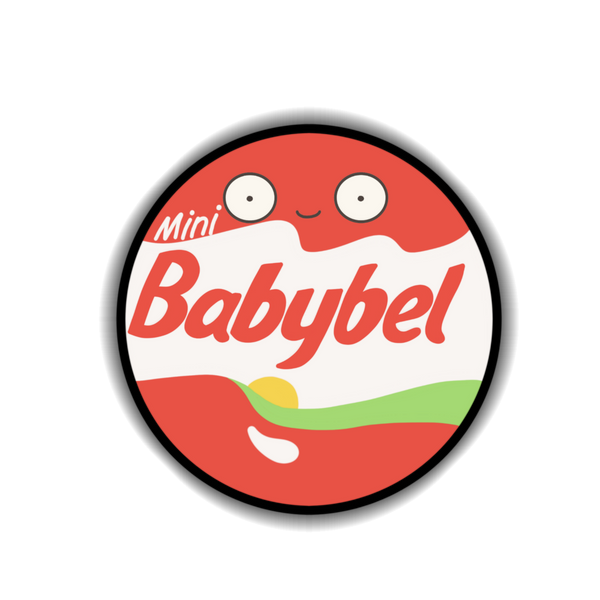 Babybel Sticker