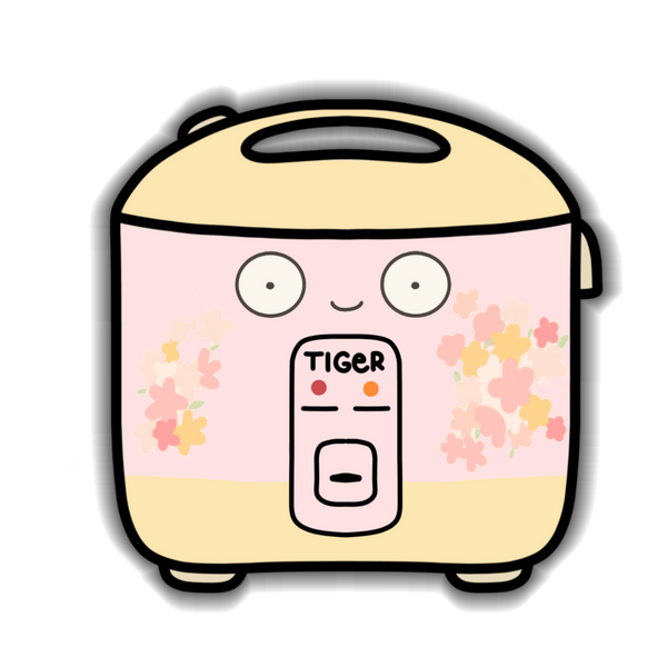 Rice Cooker - Tiger Sticker