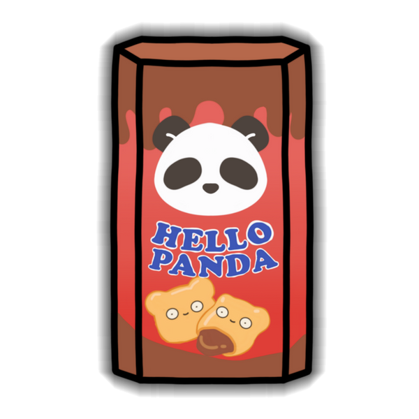 Hello Panda Sticker