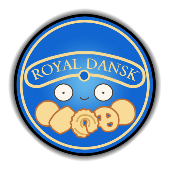 Royal Dansk Sticker