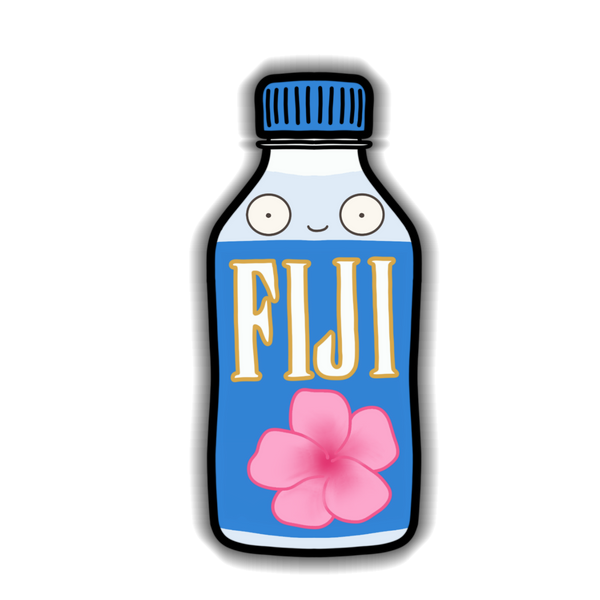 Water - Fiji Sticker